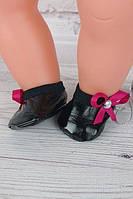 Балетки чёрные для куклы Baby Born