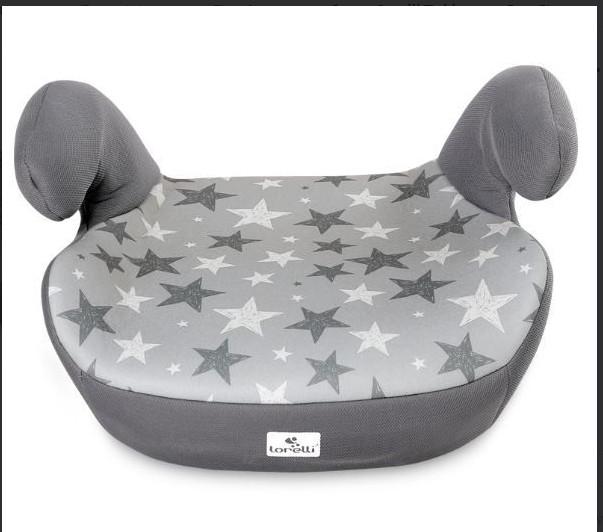 Бустер Bertoni (Lorelli) Teddy 15-36 кг Grey Stars (TEDDY grey stars)
