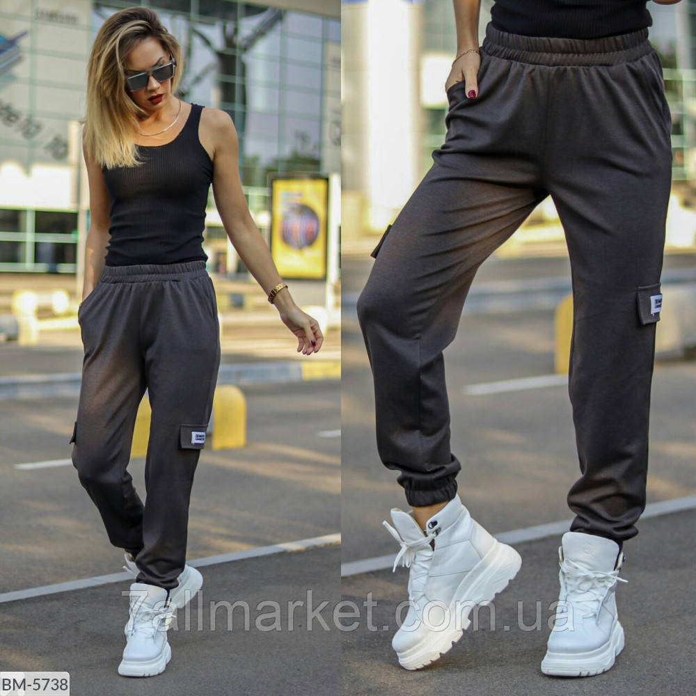 """Спортивні штани жіночі мод. 204 (42, 44, 46, 48) """"VALENTINA"""" недорого від прямого постачальника"""