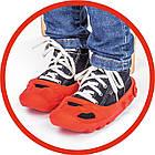 Детская машинка каталка Racer Classic Big 56074 толокар + накладки на обувь для детей, фото 7
