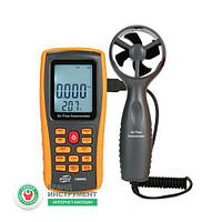 Анемометр крыльчатый (0,3~45 м/с) BENETECH GM8902