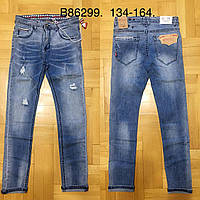 Джинсовые брюки для мальчиков Grace 134-164 p.p., фото 1