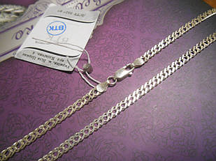 Срібна ланцюжок ромб 550