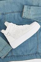 Белые повседневные кроссовки с блестками 2020. Размеры 36, 37, 38, 39, 40, 41