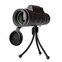 Монокль монокуляр 40x60 ABX 2675-6 с клипсой для смартфона