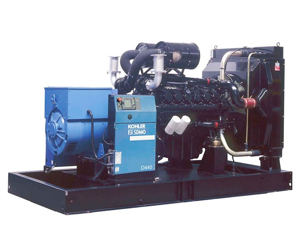 Дизельный генератор SDMO D440 (318 кВт)