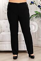 Брюки женские НББ кожа - черный: 50,52,54,56,58,60