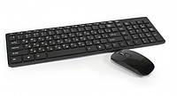 Беспроводная Клавиатура и Мышка  комплект беспроводной UKC K06 С силиконовым чехлом, фото 1