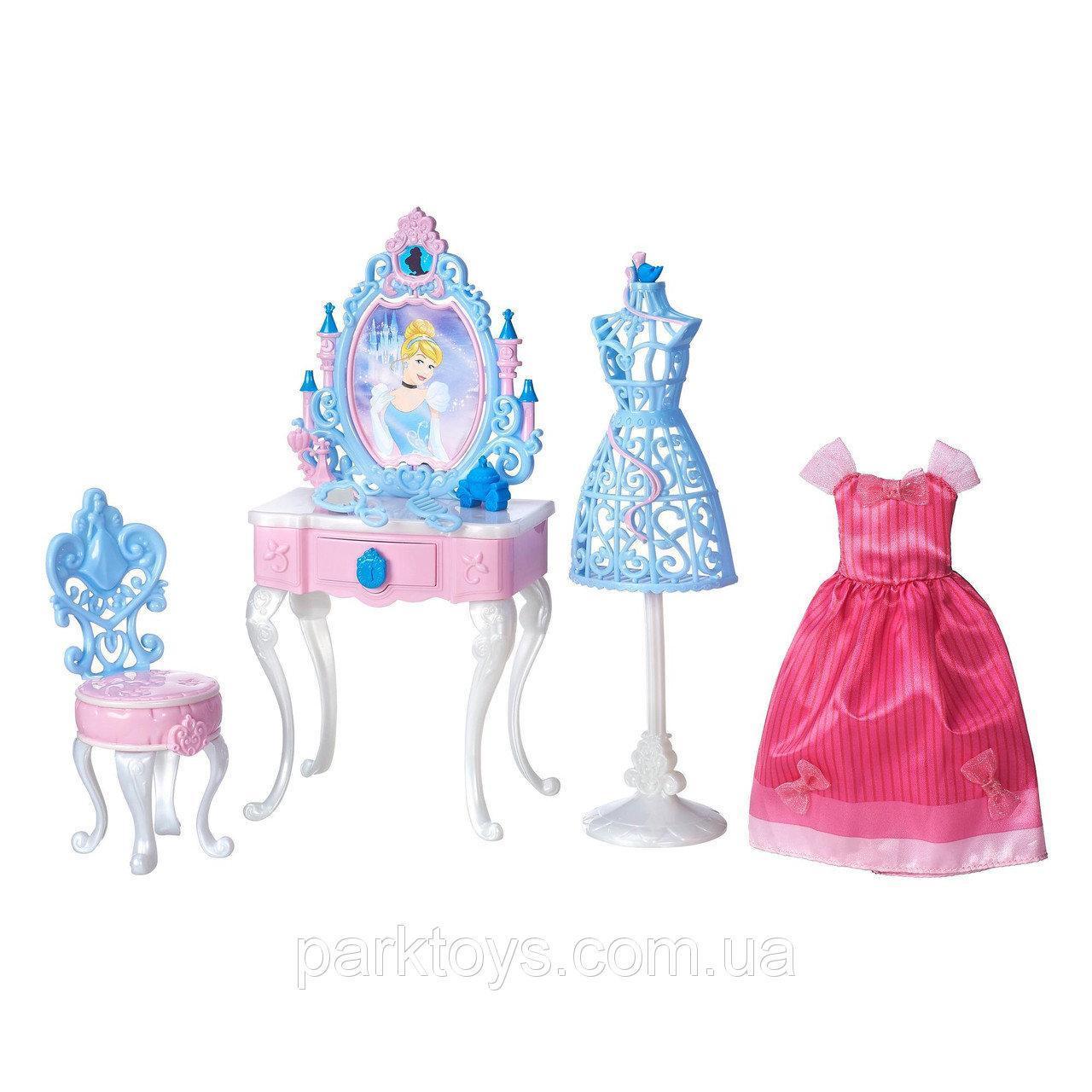 Disney Princess  Cinderella's Enchanted Vanity Set Туалетний столик Попелюшки (Туалетный столик Золушки)