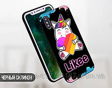 Силиконовый чехол для Xiaomi Redmi Note 6 Likee (Лайк) (13032-3440), фото 3