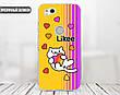 Силиконовый чехол для Apple Iphone 5_5s Likee (Лайк) (4002-3441), фото 3