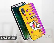 Силиконовый чехол для Apple Iphone 11 Likee (Лайк) (4027-3441), фото 3