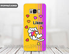 Силиконовый чехол для Huawei Honor 8 Lite Likee (Лайк) (17147-3441), фото 2