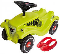 Детская машинка каталка Racer Classic Big 56074 толокар + накладки на обувь (дитячий автомобіль для малюків)