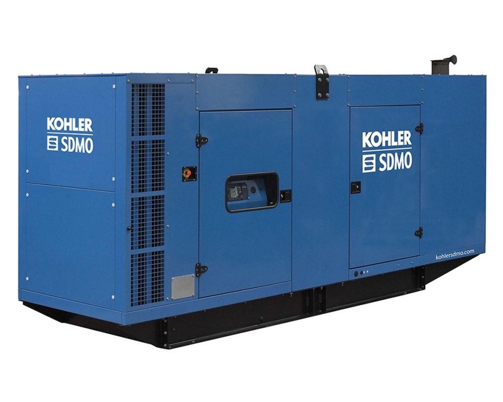 Трехфазный дизельный генератор SDMO D440 (350 кВт) с автоматическим запуском