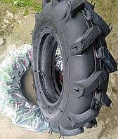 Резина для мотоблока усиленная 5.00-12 с камерой. Premium ZUBR.