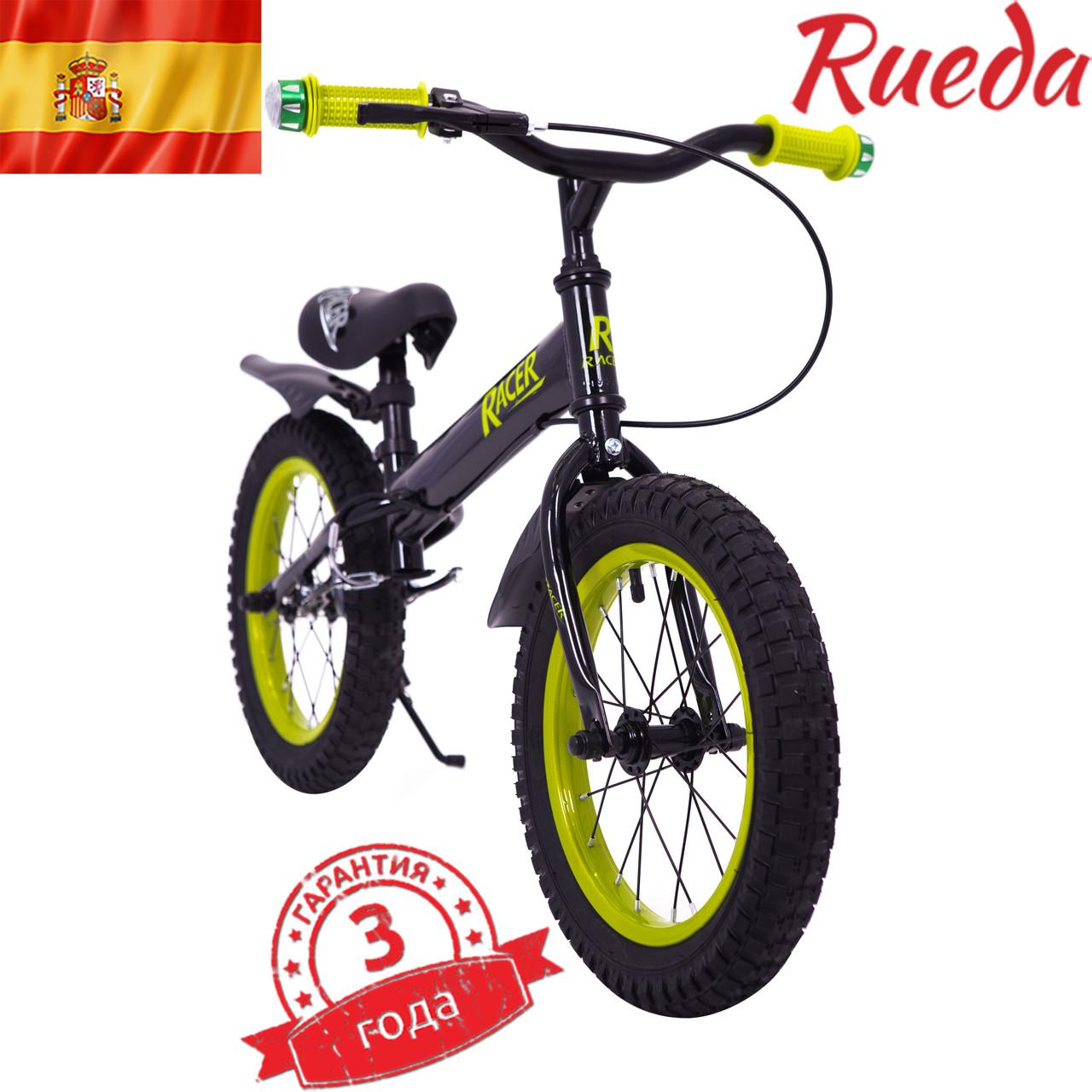 Испански детский Беговел-Велобег Racer BA14-04 Черный