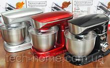 Кухонный комбайн тестомес Royalty Line RL-PKM1900,7 1900 Вт  (Серый, Чорный, Красный)