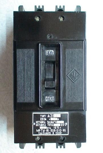 Автоматический выключатель А 3112