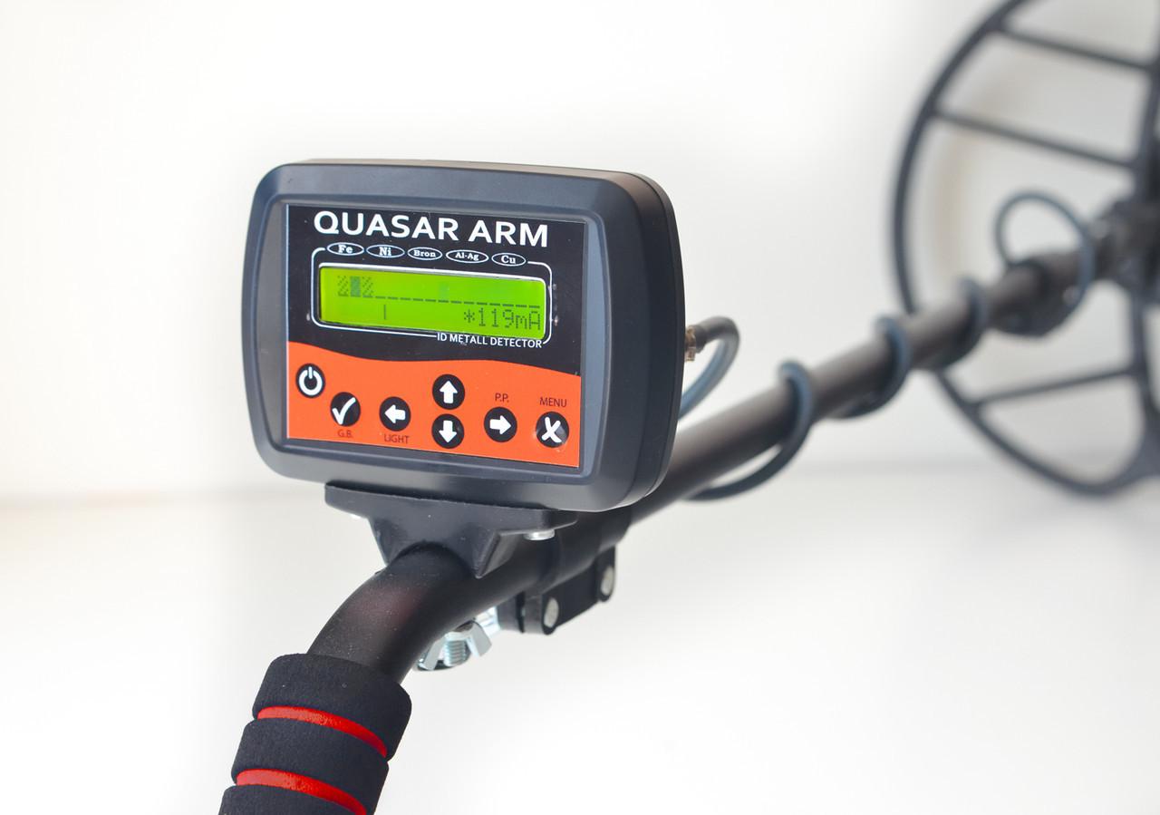 Металлоискатель Квазар АРМ/Quasar ARM c FM трансмиттером и регулятором тока ТХ