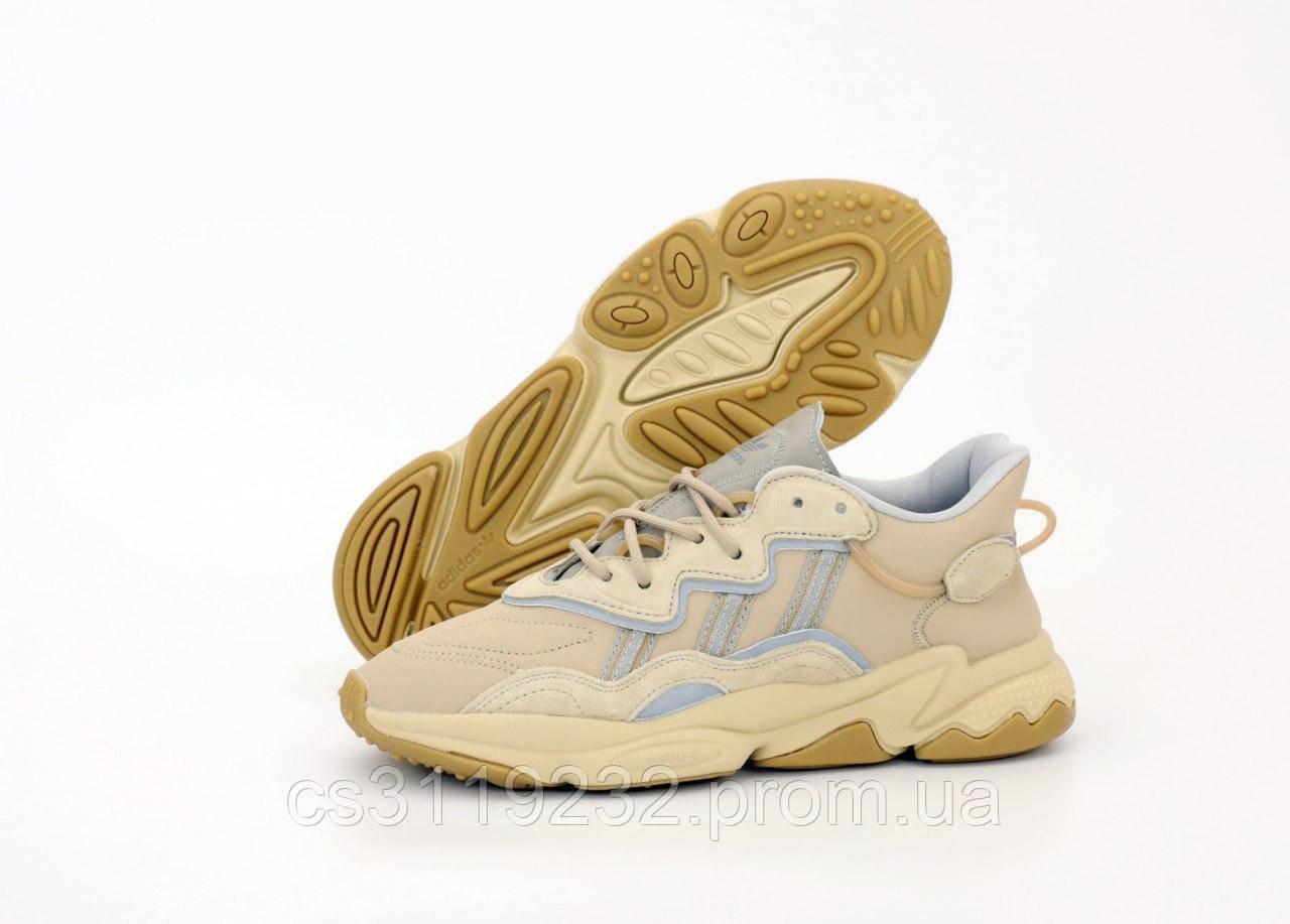 Мужские кроссовки Adidas Ozweego (бежевый)