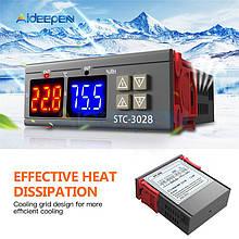 Контроллер температуры и влажности STC-3028, 12 В