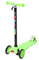 Самокат детский четырехколесный iTrike Scooter JR 3-012-A Green