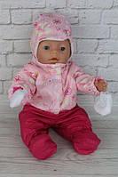 Зимний комплект карамелька для куклы Baby Born