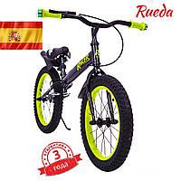 Испански детский Беговел-Велобег Racer BA16-04 от 5 лет Черный