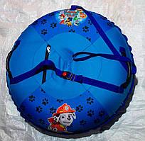 Надувные санки тюбинг Щенячий патруль для мальчика 100 см