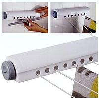 Автоматическая бельевая веревка, вытяжная настенная сушилка для белья