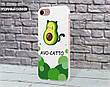 Силиконовый чехол для Apple Iphone X Авокадо (Avo-cat) (4021-3442), фото 4