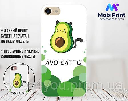 Силиконовый чехол для Huawei Honor 9 Авокадо (Avo-cat) (17138-3442), фото 2