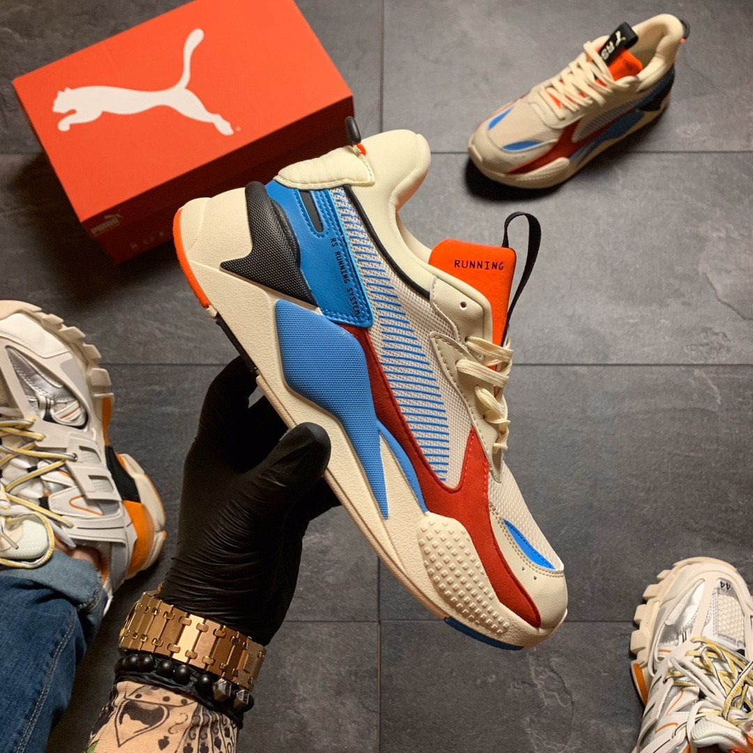 Кросівки Puma жіночі Rs-x Reinvention Cream Red Blue