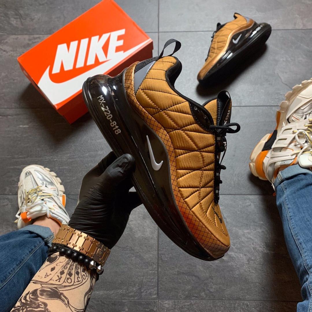 Кроссовки мужские  Nike Air Max 720-98 Brown Black.