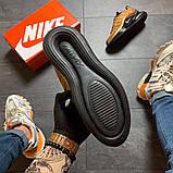 Кроссовки мужские  Nike Air Max 720-98 Brown Black., фото 5