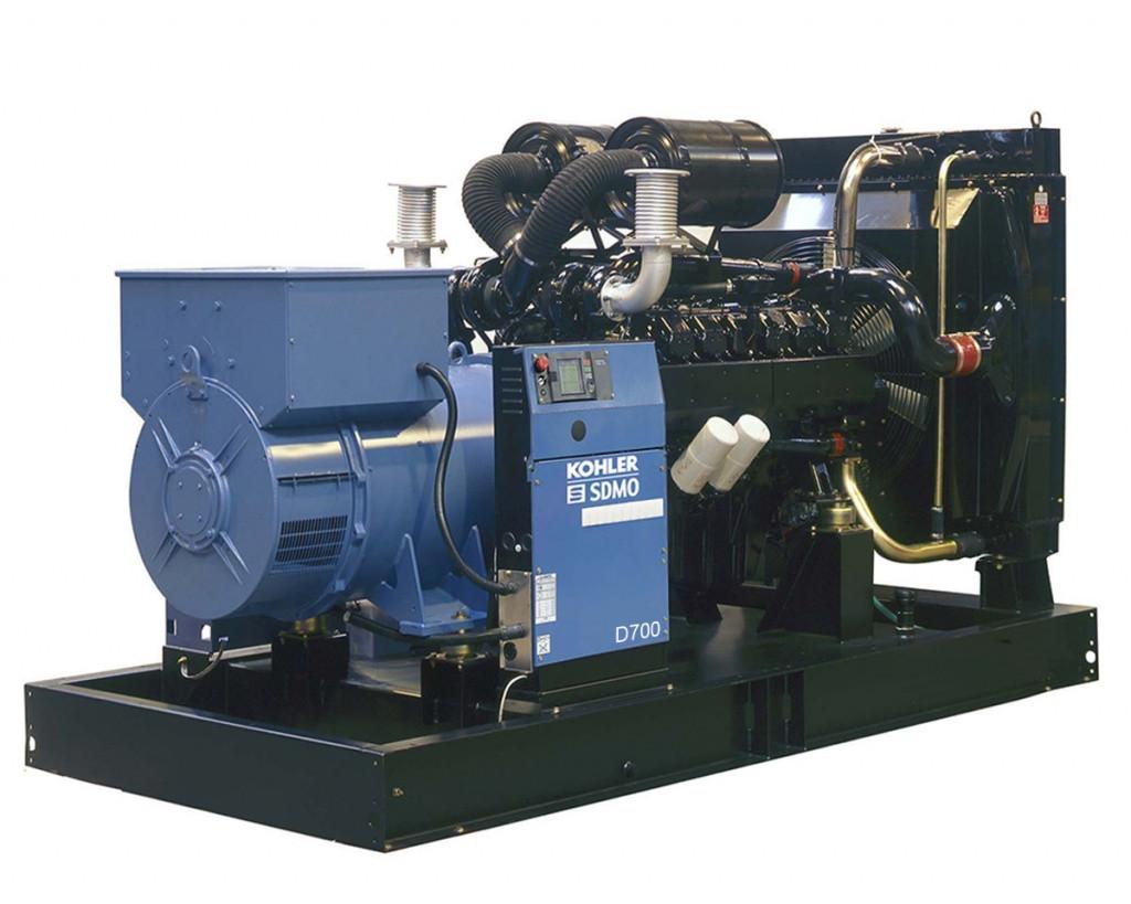 Дизельный генератор SDMO D700 (507 кВт)