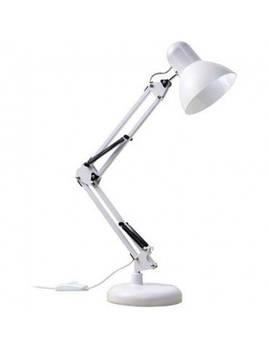 Настольная лампа белая на подставке ,1 шт