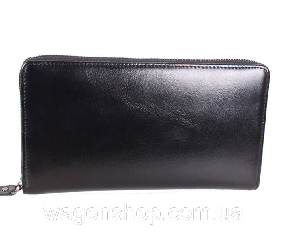 Черный деловой клатч BLACK002-2 Черный