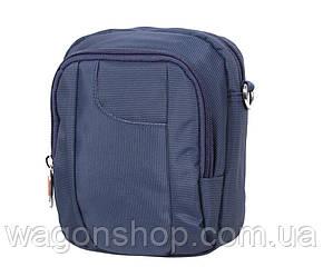 Мужская сумка синего цвета Nobol S242-1BU Синяя