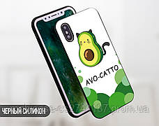 Силиконовый чехол для Huawei Y5 (2018) Авокадо (Avo-cat) (13011-3442), фото 3