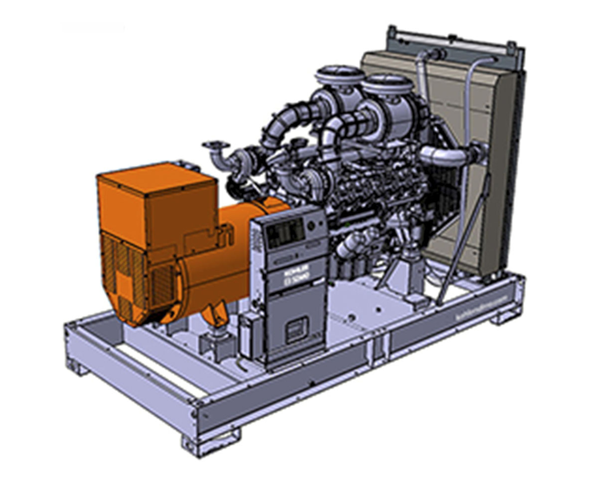 Трехфазный дизельный генератор SDMO D830 (660 кВт)