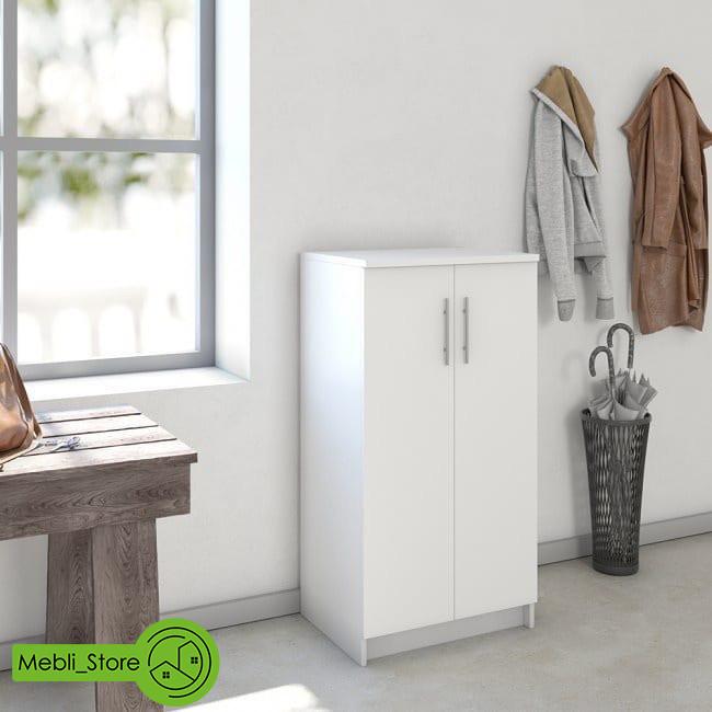 Шкаф распашной с полками для одежды и обуви из ДСП (4 ЦВЕТА) 562х1080х402 мм Возможны Ваши размеры