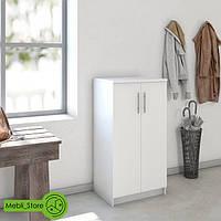 Шкаф распашной с полками для одежды и обуви из ДСП (4 ЦВЕТА) 562х1080х402 мм Возможны Ваши размеры, фото 1