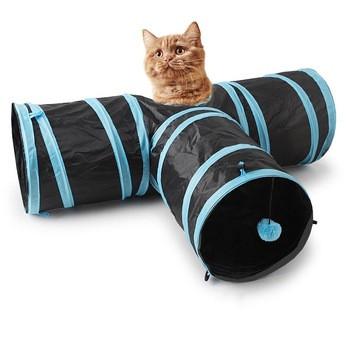 Туннель для кота на 3 выхода