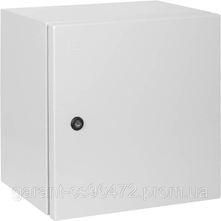 Корпус металлический e.mbox.industrial.p.50.40.20z IP65 с монтажной панелью (500х400х200)
