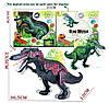 Фигура динозавра, 2 цвета, свет, звук, движения, KQX-03