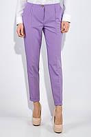 Сиреневые женские брюки классические