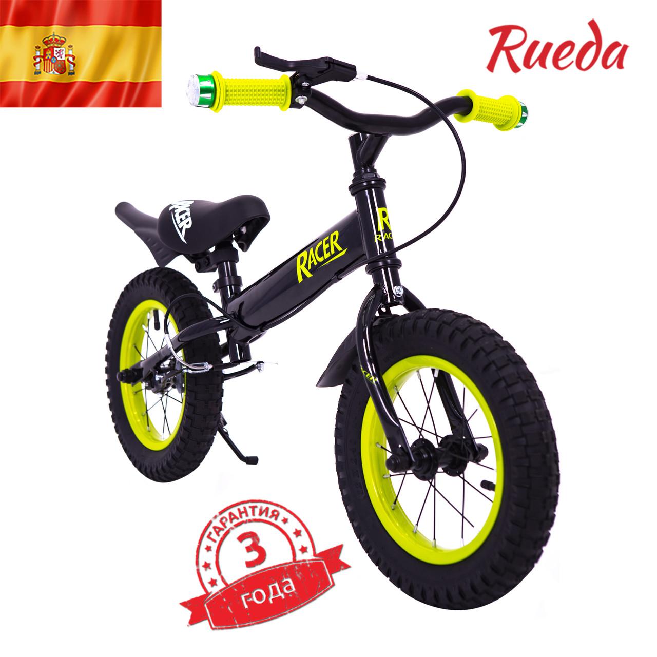 Испанский детский Беговел Racer BA12-04 черный