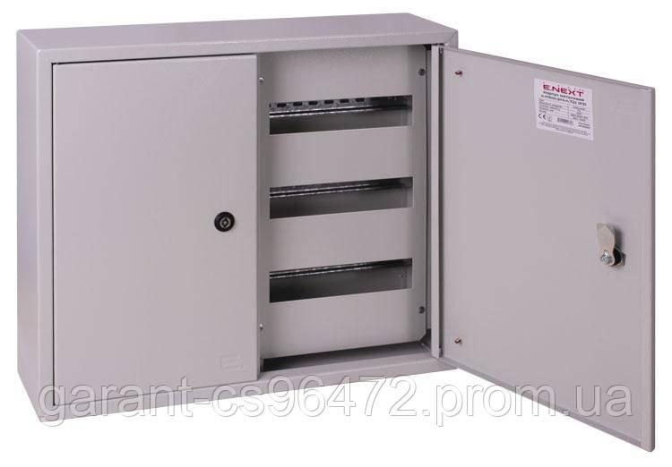 Корпус металлический e.mbox.pro.n.72z IP31 навесной на 72 модуля с замком